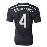 Real Madrid 14/15 SERGIO RAMOS Authentic Third Soccer Jersey