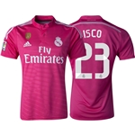 Real Madrid 14/15 ISCO Away Soccer Jersey w/ Club World Cup Badge