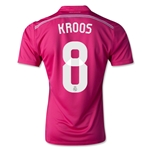 Real Madrid 14/15 KROOS Away Soccer Jersey
