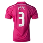 Real Madrid 14/15 PEPE Away Soccer Jersey