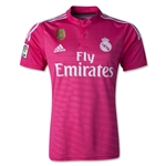 Real Madrid 14/15 Away Soccer Jersey w/ Club World Cup Badge