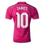 Real Madrid 14/15 JAMES Authentic Away Soccer Jersey