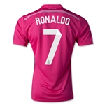 Real Madrid 14/15 RONALDO Authentic Away Soccer Jersey