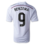 Real Madrid 14/15 BENZEMA Home Soccer Jersey