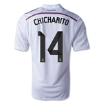 Real Madrid 14/15 CHICHARITO Home Soccer Jersey