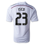 Real Madrid 14/15 ISCO Home Soccer Jersey