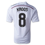 Real Madrid 14/15 KROOS Home Soccer Jersey