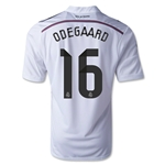 Real Madrid 14/15 ODEGAARD Home Soccer Jersey