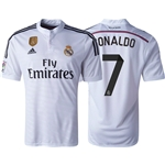 Real Madrid 14/15 RONALDO Home Soccer Jersey w/ Club World Cup Badge