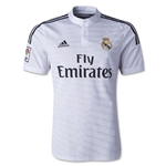 Real Madrid 14/15 Authentic Home Soccer Jersey