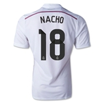 Real Madrid 14/15 NACHO Authentic Home Soccer Jersey
