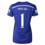 Chelsea 14/15  1 SPECIAL Women's Home Soccer Jersey
