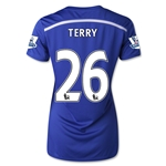 Chelsea 14/15 26 TERRY Women's Home Soccer Jersey
