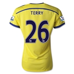 Chelsea 14/15 26 TERRY Women's Away Soccer Jersey