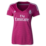 Real Madrid 14/15 Women's Away Soccer Jersey