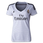 Real Madrid 14/15 Women's Home Soccer Jersey