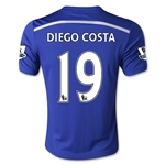 Chelsea 14/15 19 DIEGO COSTA Youth Home Soccer Jersey