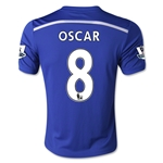 Chelsea 14/15  8 OSCAR Youth Home Soccer Jersey