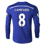 Chelsea 14/15 LAMPARD LS Youth Home Soccer Jersey