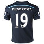 Chelsea 14/15 DIEGO COSTA Youth Third Soccer Jersey