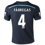 Chelsea 14/15 FABREGAS Youth Third Soccer Jersey
