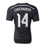 Real Madrid 14/15 CHICHARITO Youth Third Soccer Jersey