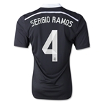 Real Madrid 14/15 SERGIO RAMOS Youth Third Soccer Jersey
