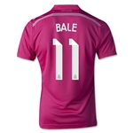 Real Madrid 14/15 BALE Youth Away Soccer Jersey
