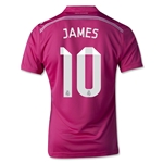 Real Madrid 14./15 JAMES Youth Away Soccer Jersey