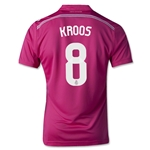 Real Madrid 14/15 KROOS Youth Away Soccer Jersey