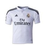 Real Madrid 14/15 Youth Home Soccer Jersey