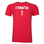 Croatia 2014 FIFA World Cup T-Shirt (Red)