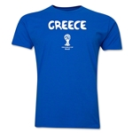 Greece 2014 FIFA World Cup T-Shirt (Royal)