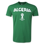 Algeria 2014 FIFA World Cup T-Shirt (Green)