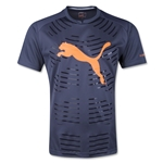 PUMA evoPOWER Graphic T-Shirt (Nv/Orange)