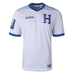 Honduras 14/15 Home Soccer Jersey w/ Gold Cup Patch