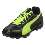 PUMA evoSPEED 5.2 FG Junior (Black/Fluo Yellow)