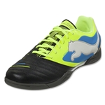 PUMA PowerCat 3.12 IT Junior-Black/Fluo Yellow