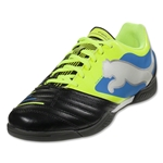 PUMA PowerCat 4.12 IT Junior (Black/Fluo Yellow)