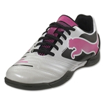 PUMA PowerCat 4.12 IT Junior (Metallic White)