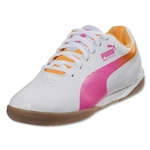 PUMA evoSPEED Star II Junior (White/Fluo Pink)