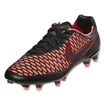 Nike Women's Magista Orden FG (Black/Bright Mango/Action Red/Black)