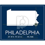 Philadelphia Union Map Wall Art