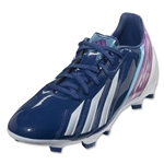 adidas F10 TRX FG miCoach compatible (Dark Blue/Running White)