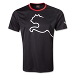 PUMA King Graphic T-Shirt (Blk/Red)