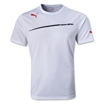 PUMA King Poly T-Shirt (Wh/Bk)