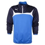 PUMA 1/4 Zip Training Top (Roy/Wht)