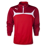 PUMA 1/4 Zip Training Top (Sc/Wh)