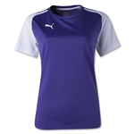 PUMA Women's Speed Jersey (Pur/Wht)
