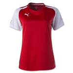 PUMA Women's Speed Jersey (Sc/Wh)